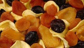 La fruta deshidratada es deliciosa, pero contiene muchas más calorías que la fruta fresca.