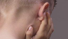 El dolor de oído es un síntoma de infección.