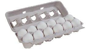 No coloques los huevos con cáscara en el microondas porque explotarán.