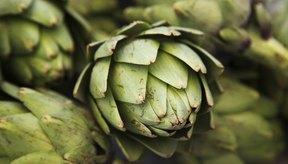 Pila de alcachofas