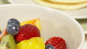 La fruta fresca es un buen acompañamiento para los panqueques.
