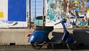 Las motonetas son un medio de transporte eficiente y útil en la ciudad.