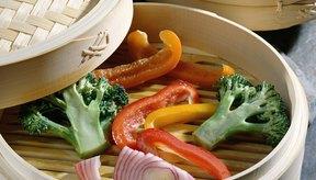 Los vegetales al vapor son una buena adición a un programa de pérdida de peso.