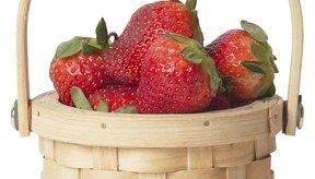 Las fresas son libres de grasa y ricas en vitamina C.