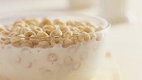 Los cereales fortificados para el desayuno son ricos en nutrientes.