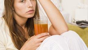 Las bebidas azucaradas frías pueden calmar sensaciones de nauseas.