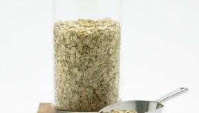 Los hidratos de carbono de la avena se llaman almidones.