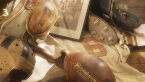 El desarrollo de los tapones fue en paralelo con el avance del fútbol americano.