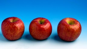 Las manzanas son ricas en hidratos de carbono.