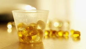 Las píldoras de aceite de hígado de bacalao contienen ácidos grasos omega 3.