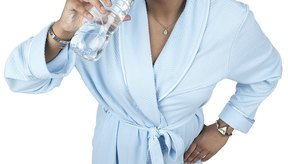 Remata un desayuno saludable con un vaso de agua helada.