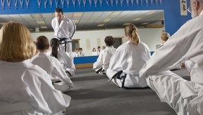 Una de las piezas más comunes de equipo de golpes en los gimnasios de artes marciales es el escudo de patadas.