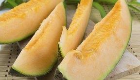 Las rodajas de melón son un bocadillo práctico y rico en vitamina C.