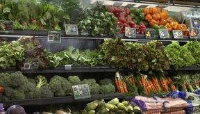 Los vegetales son una gran fuente de carbohidratos y fibra.