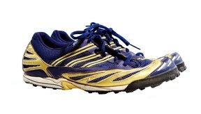 Zapatillas coloridas.