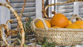 Las naranjas contienen vitamina C, un antioxidante