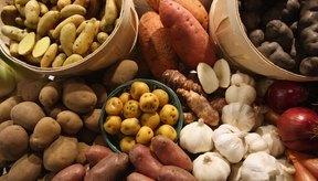 Las patatas están en su mejor momento antes de que broten raíces.