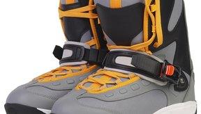Los tobillos débiles requieren botas de snowboard con apoyo.