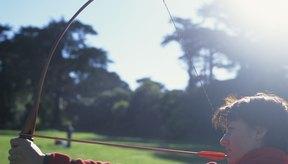 La cuerda del arco es vital para la seguridad de un arco largo.