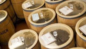 Los aceites y ácidos se encuentran dentro de los granos de café.