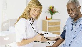 Rango normal de presión sanguínea según la edad.