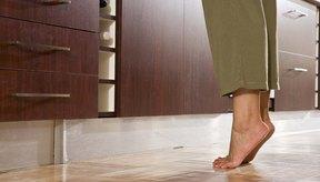 Los flexores de los dedos del pie te estabilizan cuando te paras de puntas.