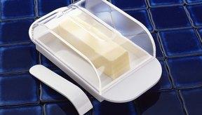 La manteca es sólida a temperatura ambiente.