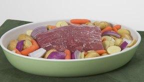 La carne hervida es húmeda y tierna.