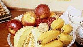 Los plátanos y las manzanas son adiciones saludables a cualquier dieta.