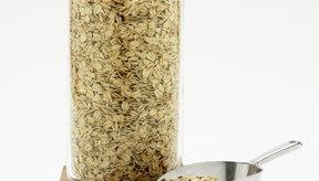 La avena normal es una mejor opción en comparación con la harina de avena instantánea envasada.
