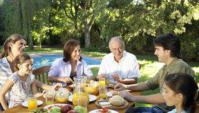 La dieta del Centro de Salud de McKinley en la Universidad de Illinois en Urbana-Champaign ofrece una muestra de desayuno saludable.