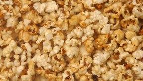 La venta de palomitas se da principalmente en los cines.