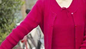 Los suéteres de acrílico pierden su forma cuando se calientan en exceso.