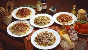 Los platos de pasta pueden contener más alcohol de lo que crees.