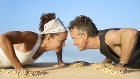 Las flexiones de brazo usan tu peso corporal como resistencia.