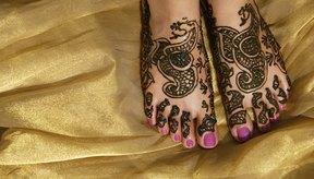 La tinta henna es semipermanente y totalmente natural.