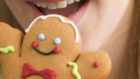 Las galletitas de jengibre contienen grasa y azúcar.