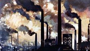 Las fabricas pueden causar contaminación del aire, agua y la tierra.