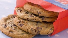 Bolsa de galletas de chocolate