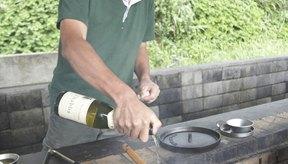 El alcohol se evapora del vino cuando se lo cocina por completo.
