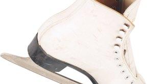 Puedes afilar manualmente tus patines de hielo con una lima.