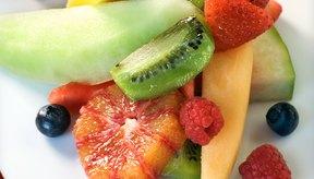 Las frutas frescas pueden ser un postre espectacular.