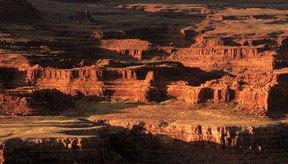 El Gran Cañón fue creado por la erosión.