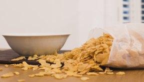 Los cereales en el desayuno son un ejemplo de carbohidratos procesados.