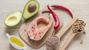 Imagen de alimentos con alto contenido de Omega 3