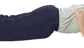 Cuando se hacen correctamente, las flexiones de brazos pueden fortalecer tu espalda.