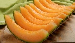 El melón contiene una alta cantidad de agua.