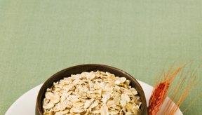 La avena regular es una comida natural y completa.
