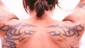 Todos los tatuajes, una vez aplicados, atraviesan un proceso de curación inicial.