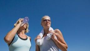 El sudor puede causar picazón posterior al ejercicio.